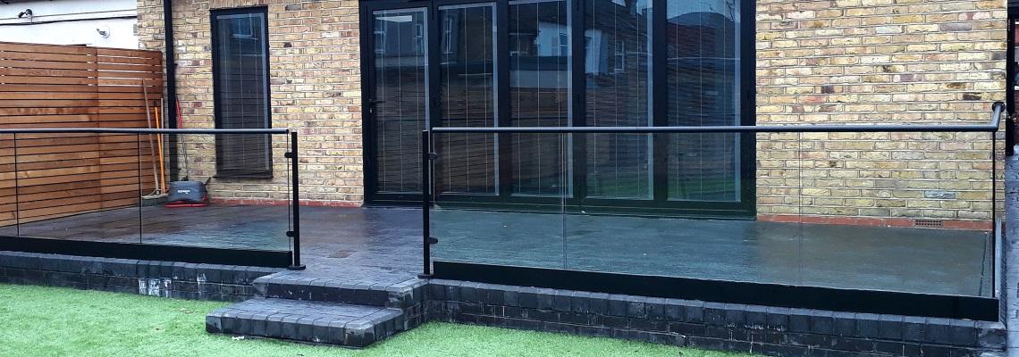 External Glass Balustrades